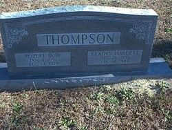 Gladys <I>Hargett</I> Thompson