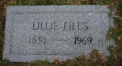 "Lillian Gertrude ""Lillie"" Files"