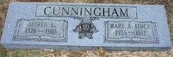 Mary Ann <I>Finch</I> Cunningham