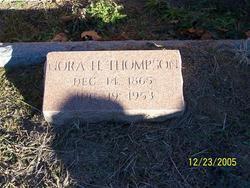 Nora <I>Hargett</I> Thompson
