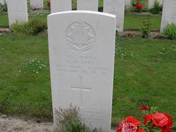 Private Owen William Apps