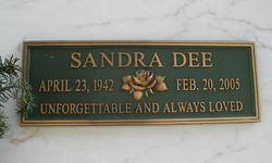 Sandra Dee 1942 2005 Find A Grave Memorial