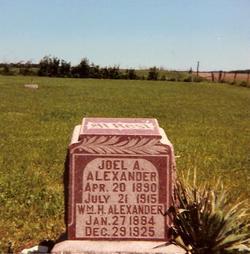Joel A. Alexander