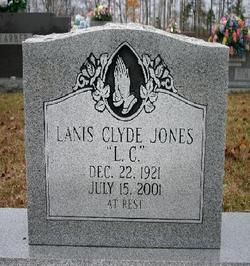 """Lanis Clyde """"L. C."""" Jones"""