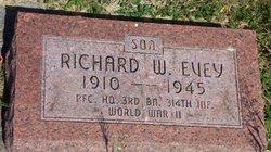 PFC Richard W. Evey