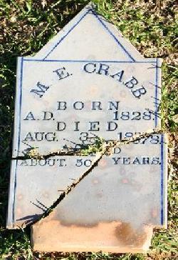 Mary Elizabeth <I>Horn</I> Crabb