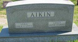 """Carolena """"Lena"""" <I>Blohm</I> Aikin"""