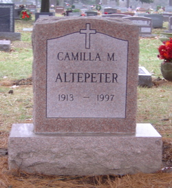 Camilla M Altepeter