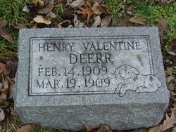 Henry Valentine Deerr