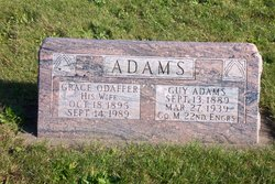 Grace <I>Odaffer</I> Adams