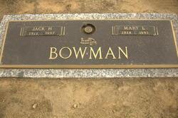 Mary <I>Lupo</I> Bowman