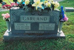 Nellie P. <I>Richard</I> Garland
