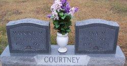Eva M. <I>Wilson</I> Courtney