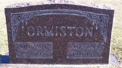 William Oscar Ormiston, I