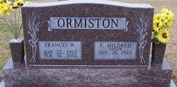 Francis William Ormiston