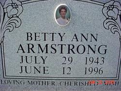 Betty Ann Armstrong