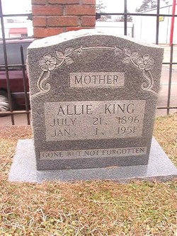 Allie <I>Miller</I> King