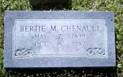 Bertie Magnolia <I>Mills</I> Chenault