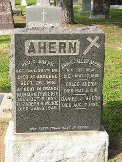 Annie <I>Gallen</I> Ahern