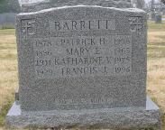 Mary Elizabeth <I>Brown</I> Barrett