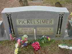 Fannie <I>Warren</I> Pickelsimer