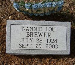 Nannie Lou Brewer