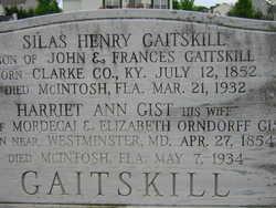 Harriet Ann <I>Gist</I> Gaitskill