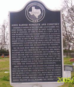 Amos Barber Cemetery
