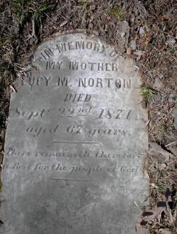 Lucy Marshall <I>Fisher</I> Norton