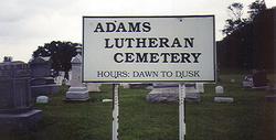 Adams Lutheran Cemetery
