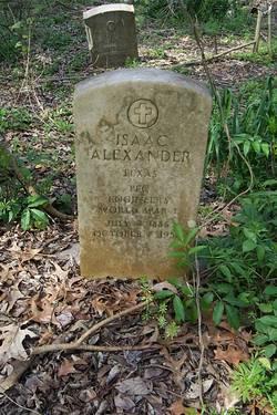 Pvt Isaac Alexander