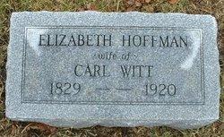 Elizabeth <I>Hoffman</I> Witt