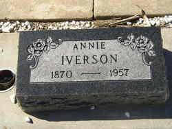 Annie Helena <I>Johnson</I> Iverson