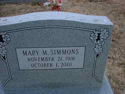 Mary M. Simmons