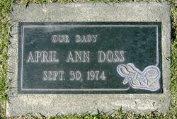April Ann Doss