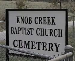 Knob Creek Baptist Church Cemetery