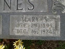 Mary Savannah <I>Denson</I> Jones