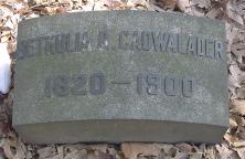 Bethulia R Cadwalader
