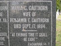 Maria C. Cauthorn