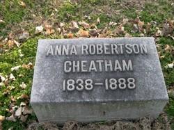 Anna Belle <I>Robertson</I> Cheatham