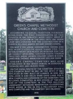 Greens Chapel Cemetery