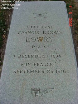 Lieut Francis Brown Lowry