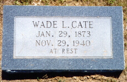 Wade Lawrence Cate