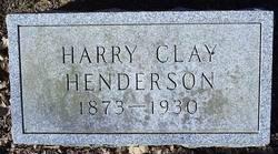 Harry Clay Henderson