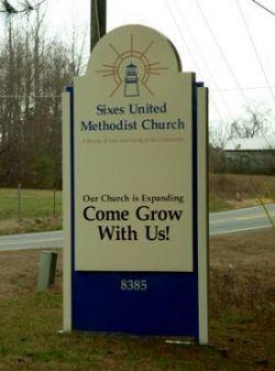 Sixes Methodist Church Cemetery