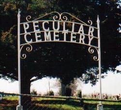 Peculiar Cemetery