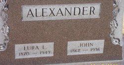 Lura <I>Linsley</I> Alexander