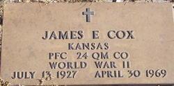 James E Cox