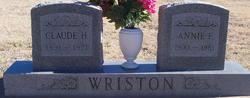 Claude H. Wriston