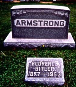 Florence A. <I>Bitler</I> Armstrong